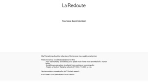 Code reduction La Redoute.ch Soldes -70% + CHF 10.- suppl.