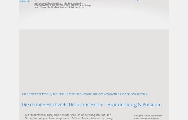 Vorschau von www.laserdisco.de, Andys Laserdisco