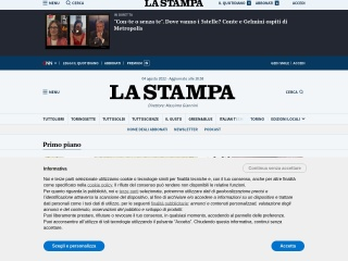 screenshot lastampa.it