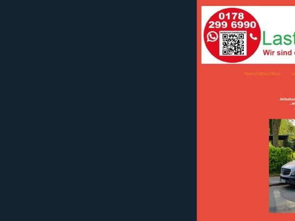 Details : Möbeltaxi-Hamburg sowie Transporte Aller Art!