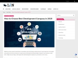 How to Choose Best Development Company in 2020