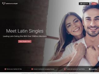 Captura de pantalla para latinamericancupid.com