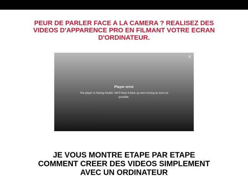 video marketing  filmer son ecran comme un pro