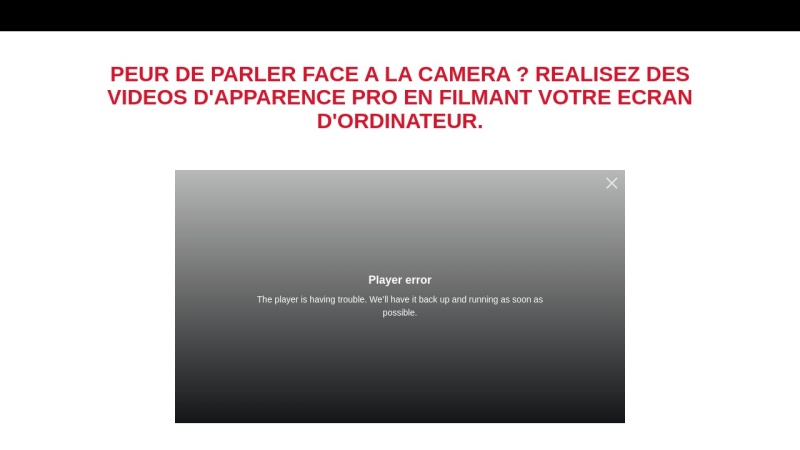 video marketing : filmer son ecran comme un pro