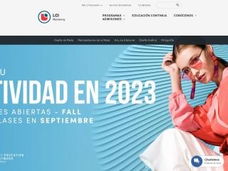 Captura de pantalla para lcimonterrey.com.mx