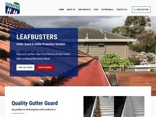 Screenshot for leafbusters.com.au