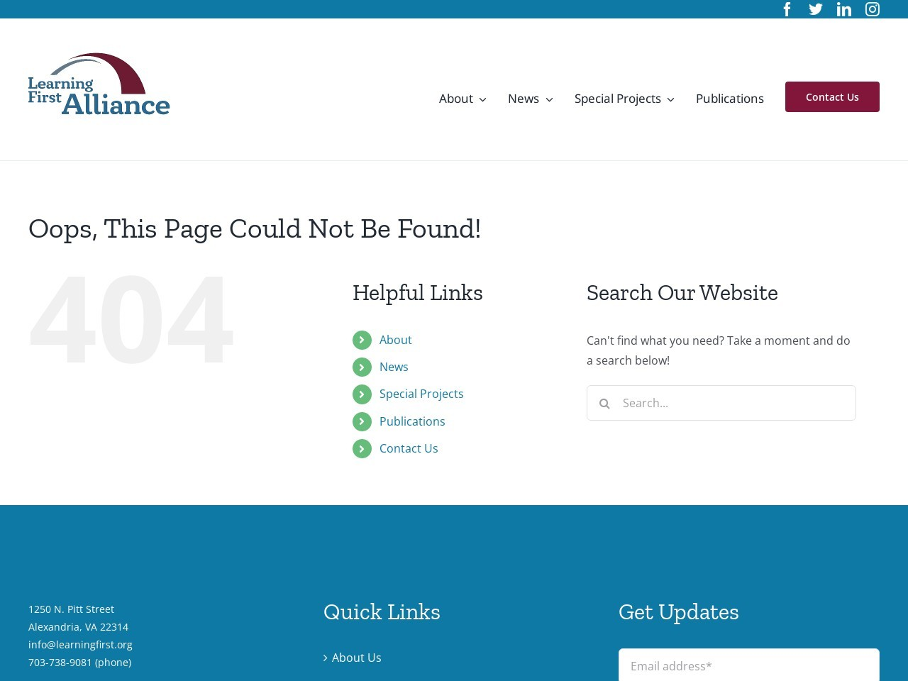 Technology in Schools: Moving to the – Learning First Alliance