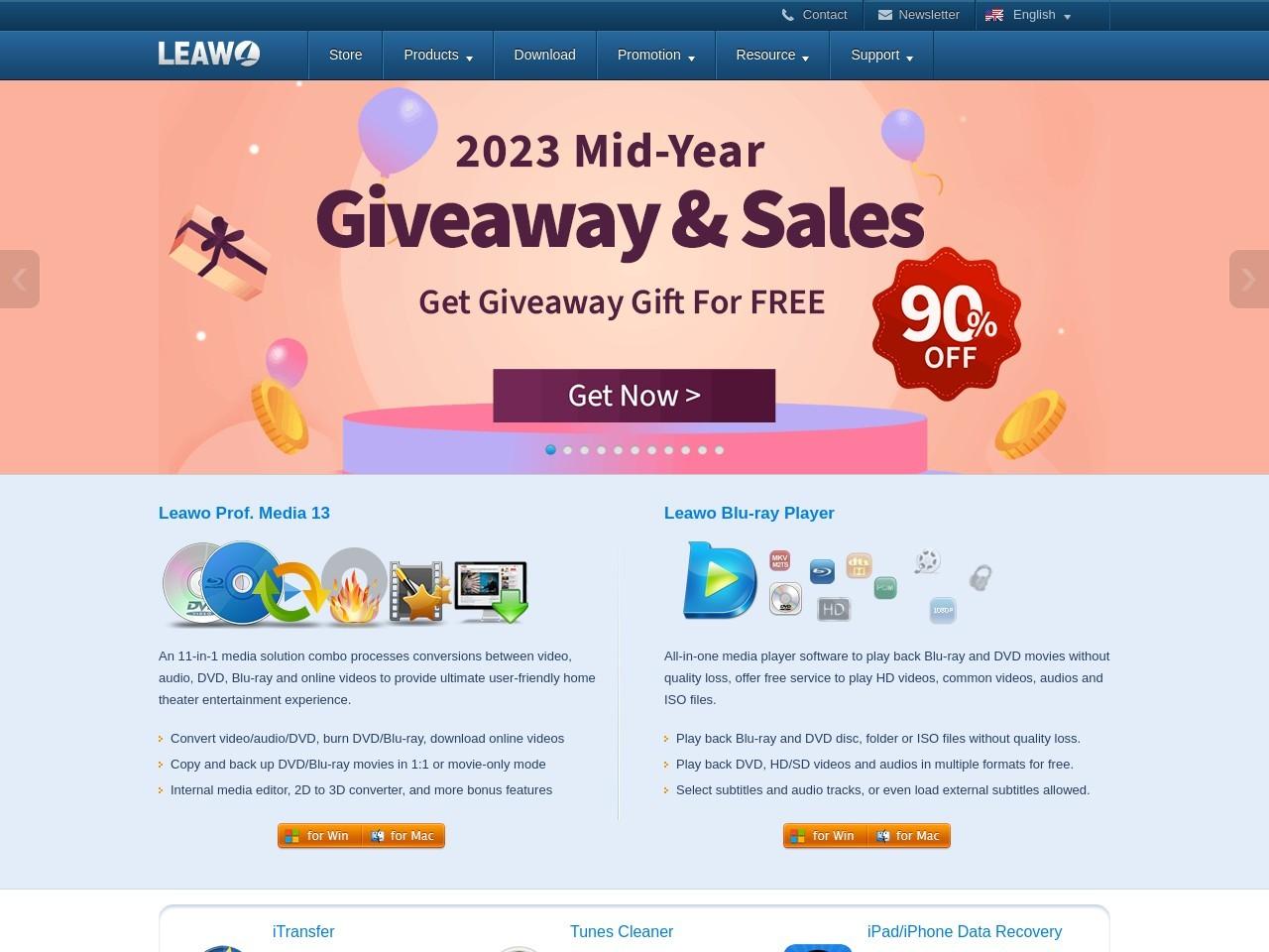 Leawo Prof. Media Ultra Promo Code