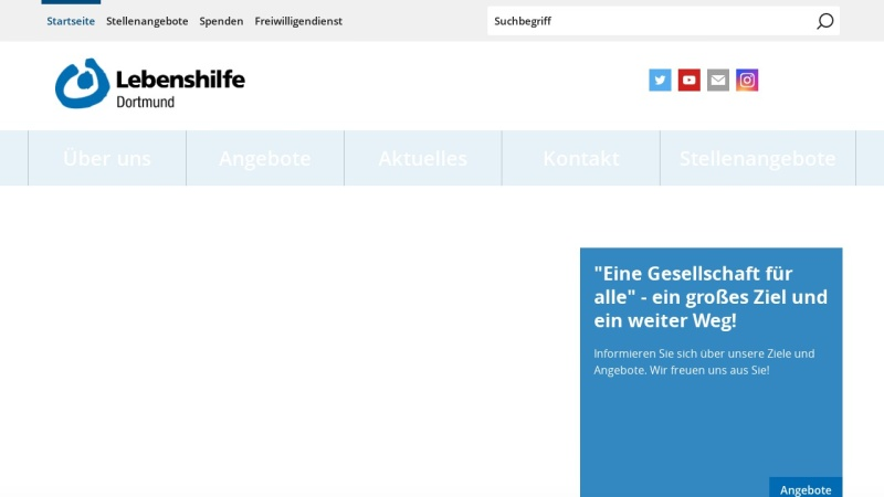 www.lebenshilfe-dortmund.de Vorschau, Lebenshilfe für Behinderte Dortmund e.V.
