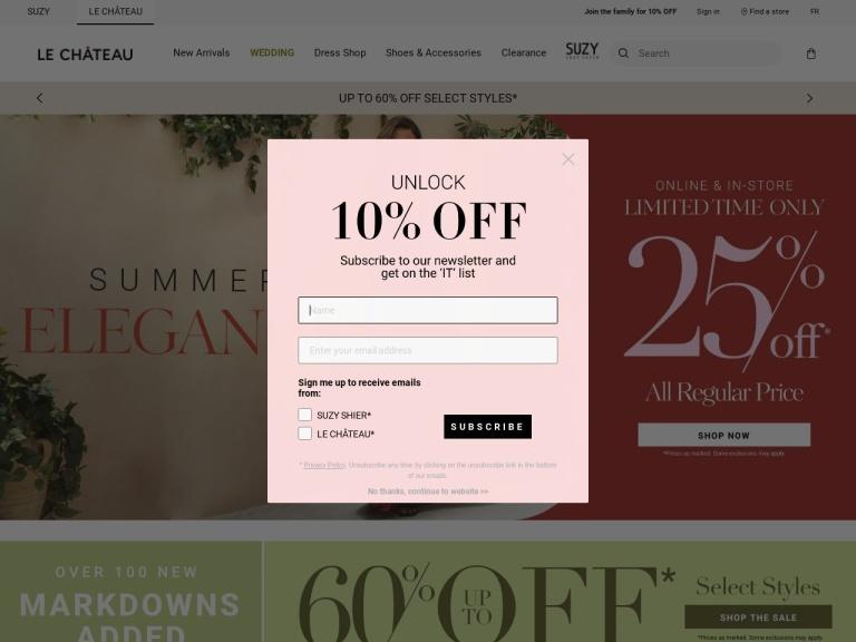 Le Chateau screenshot