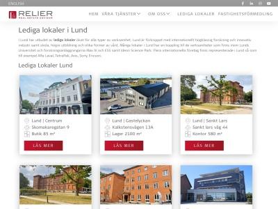 www.ledigalokalerilund.se