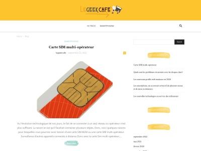 Le Geek Café
