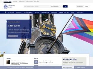 Screenshot voor leidenuniv.nl