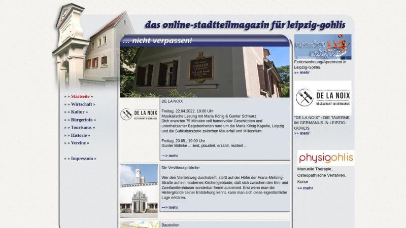 www.leipzig-gohlis.de Vorschau, Leipzig-Gohlis