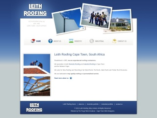 Screenshot for leithroofing.co.za
