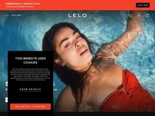 Screenshot for lelo.com