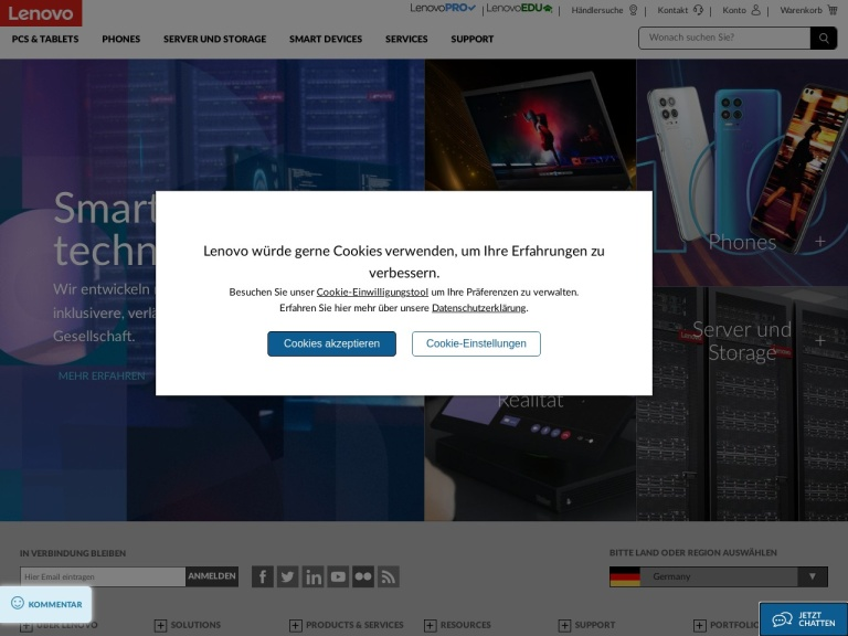 Lenovo Germany Coupon Codes