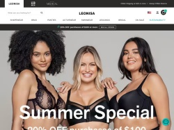 http://www.leonisa.com coupon and discount codes