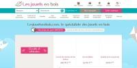 Code promo Les Jouets en Bois et bon de réduction Les Jouets en Bois