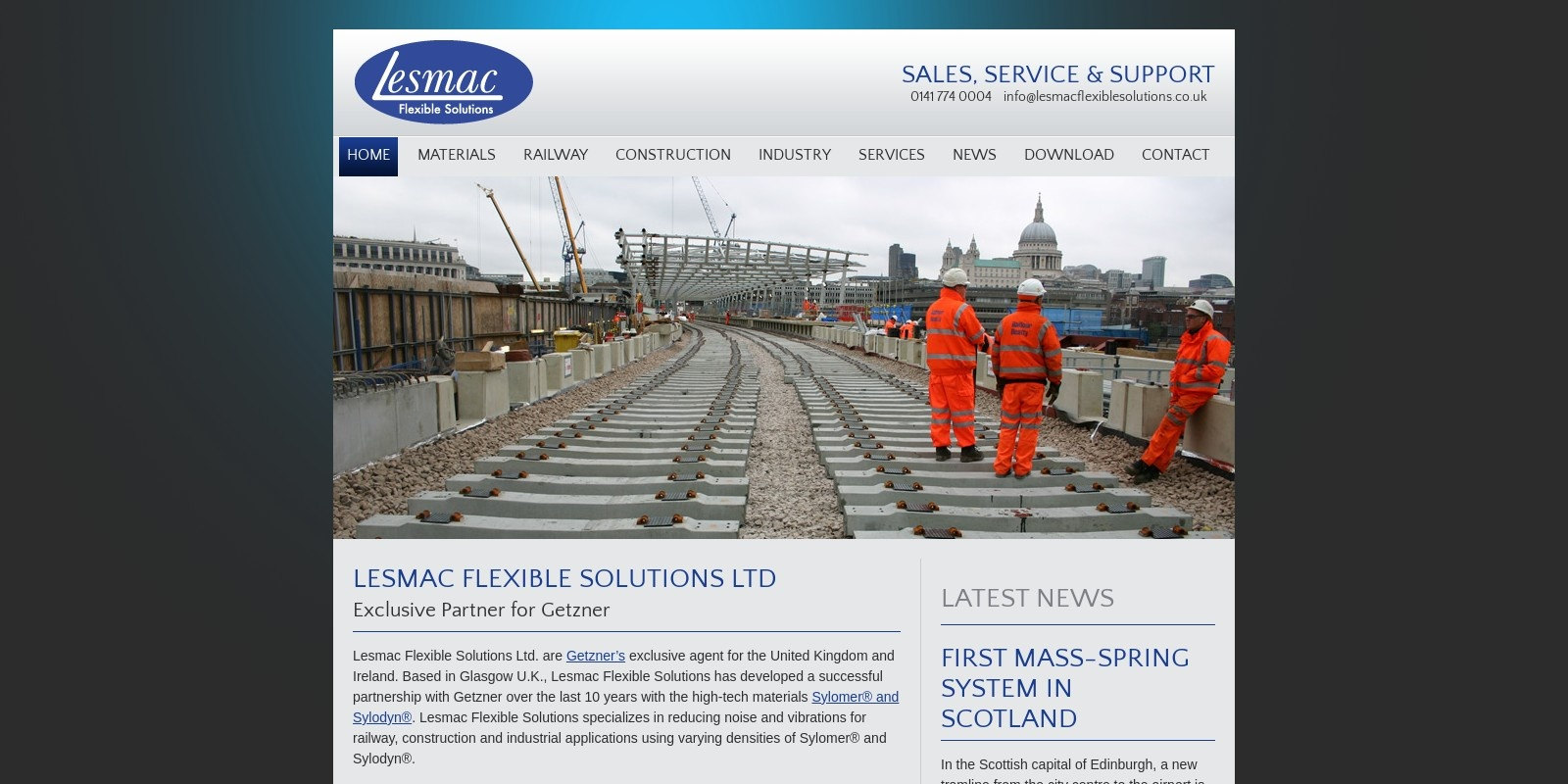 Preview of http://www.lesmacflexiblesolutions.co.uk/
