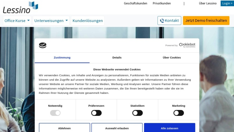 www.lessino.de Vorschau, Lessino E-Learning