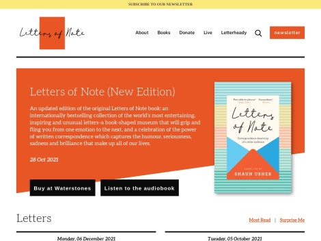 http://www.lettersofnote.com