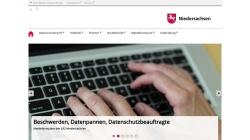 www.lfd.niedersachsen.de Vorschau, Niedersachsen - Datenschutzbeauftragter