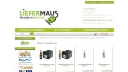 www.liefermaus.de Vorschau, LieferMaus