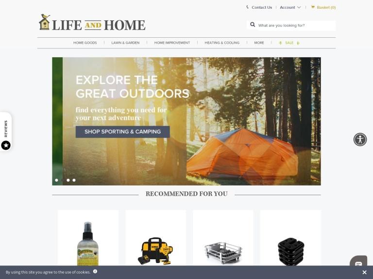 Life and Home screenshot