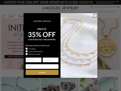 http://www.limogesjewelry.com coupon and discount codes