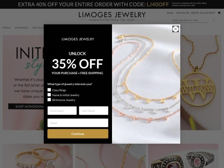 Limoges Jewelry screenshot