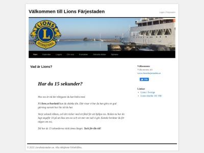 lionsfarjestaden.se