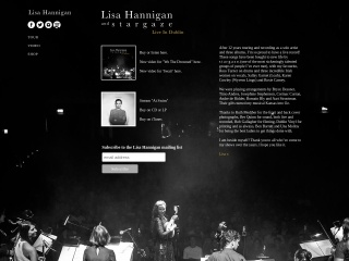 Screenshot for lisahannigan.ie