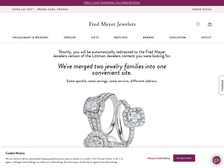 Littman Jewelers screenshot