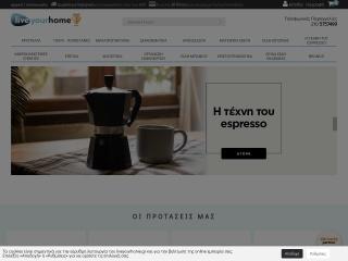 Screenshot για την ιστοσελίδα liveyourhome.gr