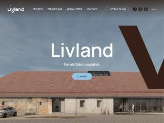 Vietnes livland.lv ekrānuzņēmums