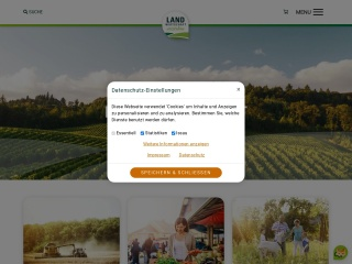 Screenshot der Website lk-konsument.at