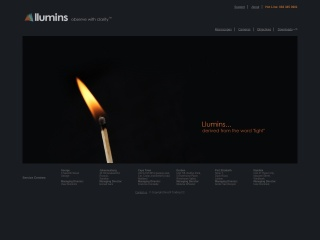 Screenshot for llumins.co.za
