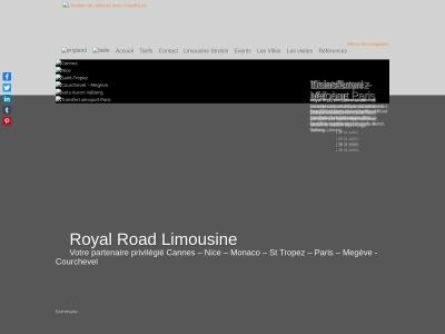 Royal Road - Location de limousine avec chauffeur
