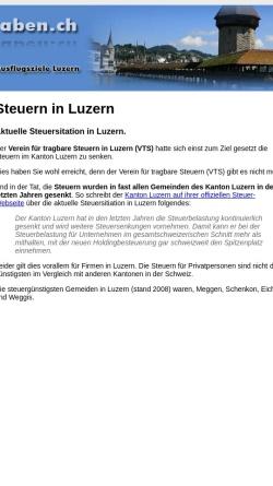 Vorschau der mobilen Webseite www.loewengraben.ch, Verein für tragbare Steuern