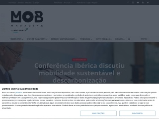 Screenshot do site logisticaetransporteshoje.com
