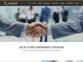 Captura de pantalla para logosconsultores.cl