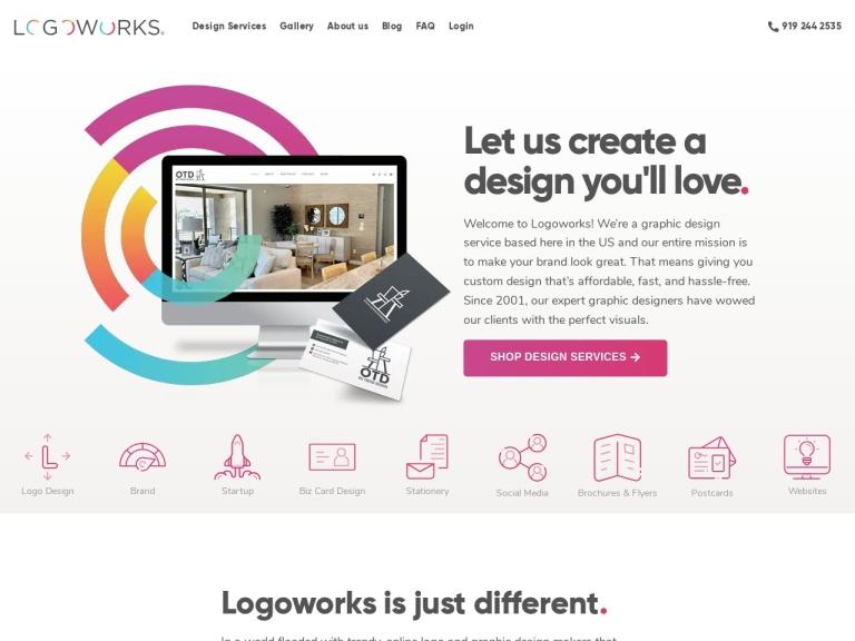 Logoworks screenshot
