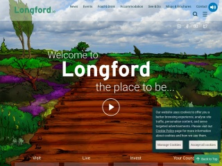 Screenshot for longford.ie