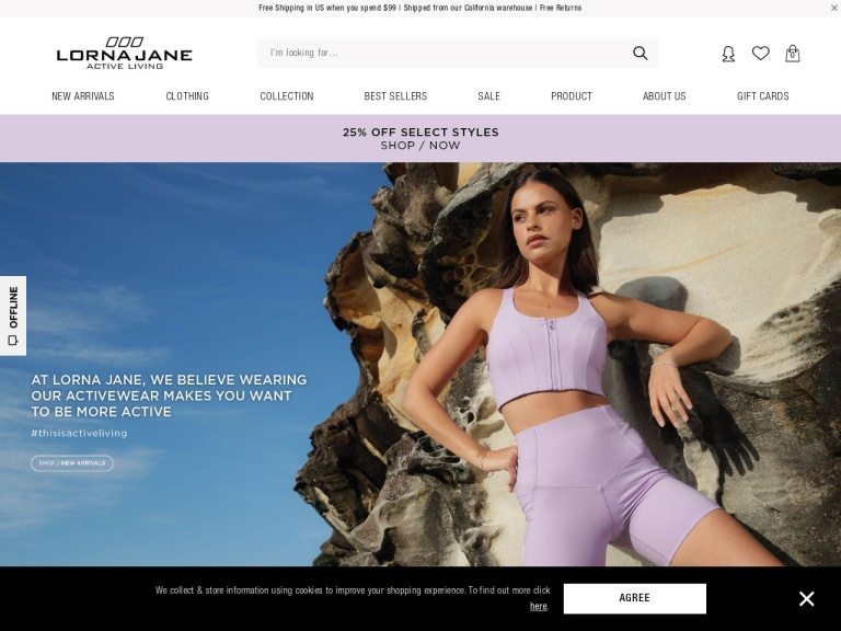 Lorna Jane Coupon Codes screenshot