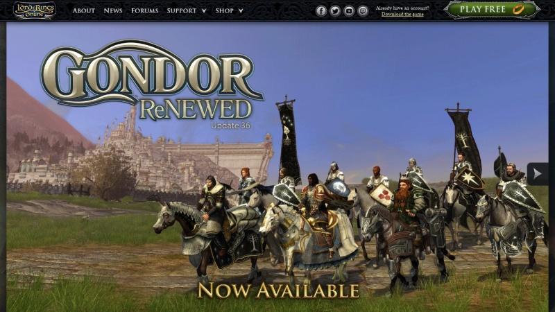 www.lotro.com Vorschau, Der Herr der Ringe Online