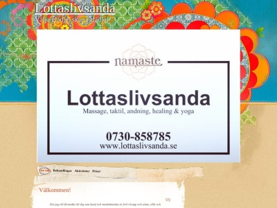 www.lottaslivsanda.se