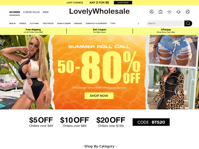 LovelyWholesale screenshot