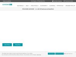 lovesac.com screenshot
