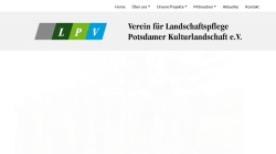 www.lpv-potsdamer-kulturlandschaft.de Vorschau, Landschaftspflegeverein Potsdamer-Kulturlandschaft e.V.